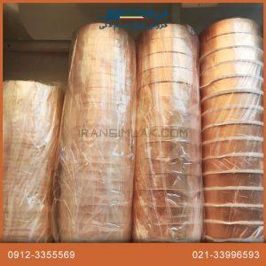 خرید چسب رسانای مسی مقاوم در برابر حرارت مناسب برای ولتاژ پایین